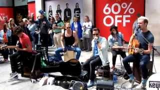 Keywest - I Never Loved You Anyway (Live on Grafton Street, Dublin, 29/06/14)