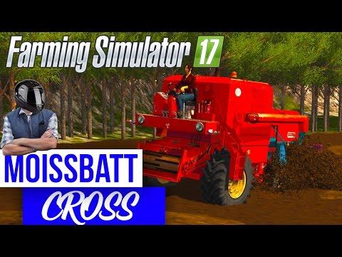 🚜Farming Simulator 17 | Moissbatt CROSS | UNE COURSE DE MOISSONNEUSE !