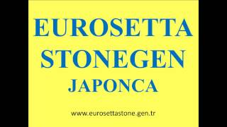 EU ROSETTA STONE GEN JAPONCA