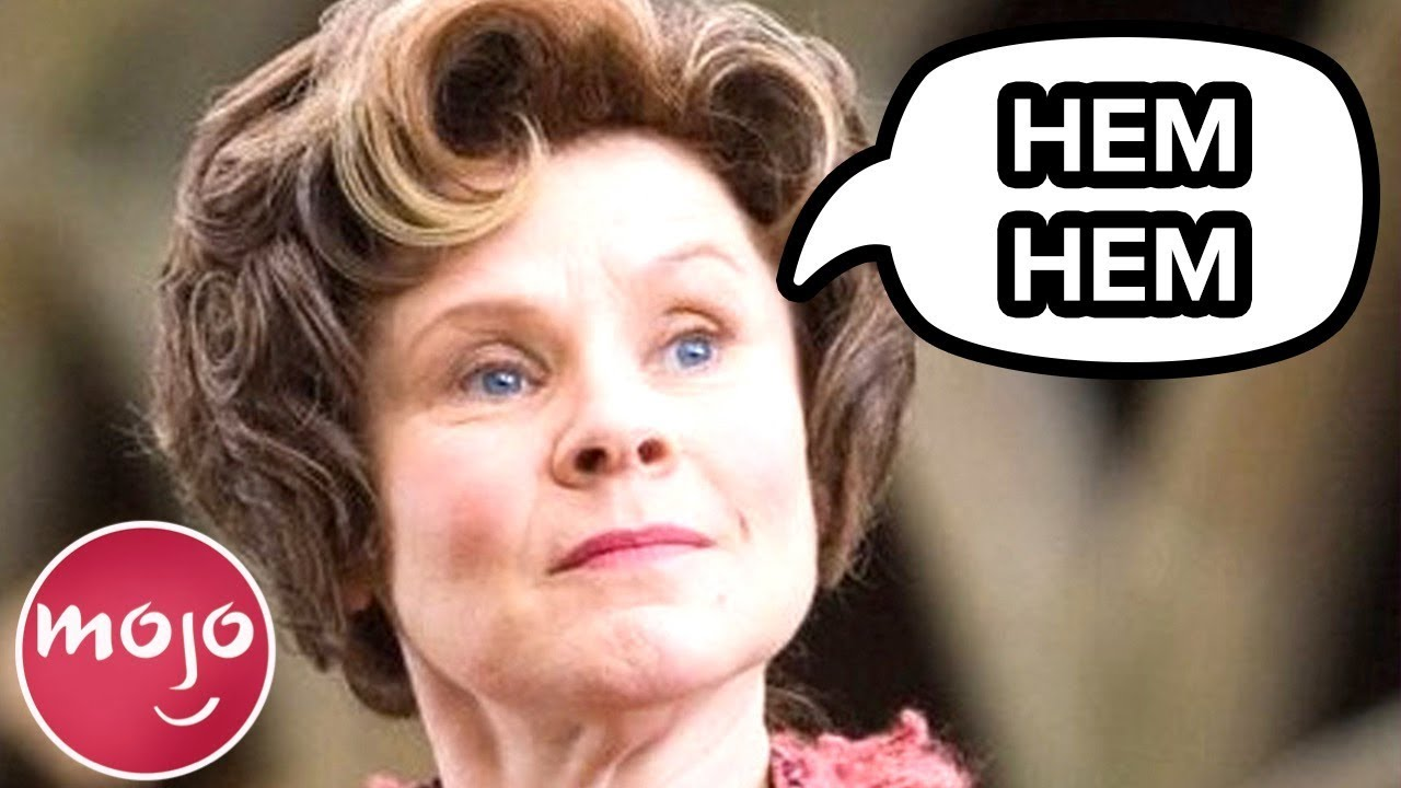 Top 10 Reasons Why Dolores Umbridge Is the Worst - Harry Potter