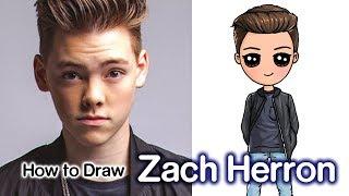 How to Draw Zach Herron | Why Don't We