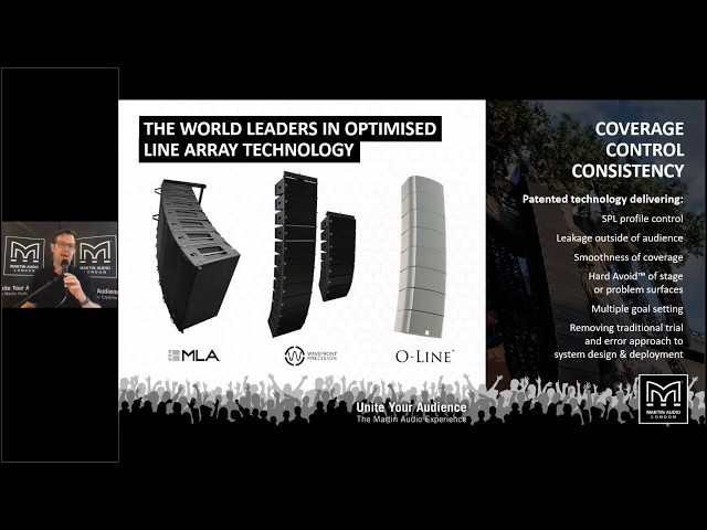 Martin Audio Optimised Line Array Overview
