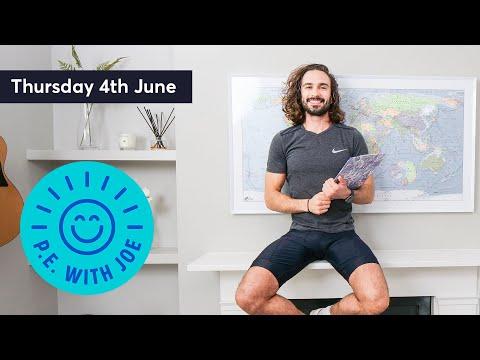 PE With Joe   Thursday 4th June