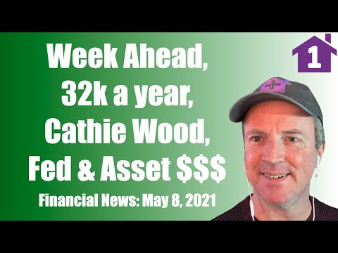 May 8 Financial News: The Week Ahead, Make less 32k a year stay home, Cathie Wood, The Fed & Asset $