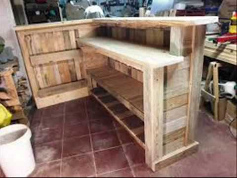 Barzinhos De Pallets Decorarmoveiscaseiros Youtube