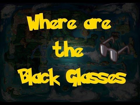 6d38413009bb Where Are  The Black Glasses (Pokemon Alpha Sapphire Omega Ruby ...