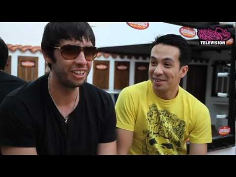Facebook interview with Laidback Luke and Example (Fans' edition)