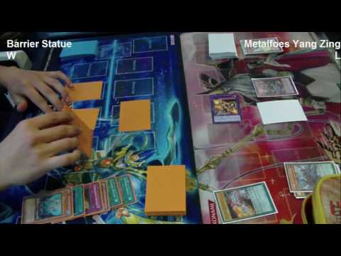 Barrier Statue Vs Metalfoes Yang Zing - Yugioh Local Tournament - March 2017 - Stereophonics