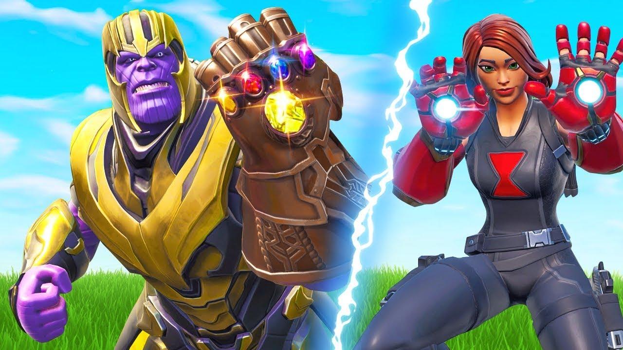 *NEW* Thanos Vs. Avengers Mode In Fortnite!