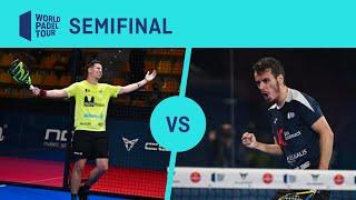Resumen semifinal Navarro/Lima Vs Rico/Nieto Cupra Las Rozas Open