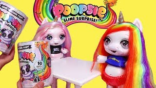 Rainbow Baby Unicorn that Makes Slime ! Toys and Dolls Fun Pretend Play & Blind Bags Opening | SWTAD
