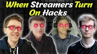 When Streamers & Pros Turn On HACKS - Rainbow Six Siege