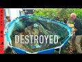DESTROYED my FISH POOL POND
