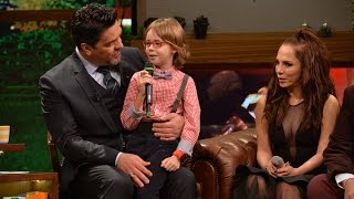 Altın Kelebek'te En iyi çocuk oyuncu ödülünü alan Ataberk Mutlu, Beyaz Show'daydı!