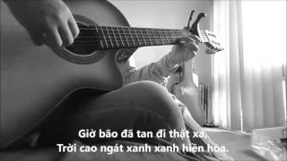Cơn bão nghiêng đêm - Guitar Solo