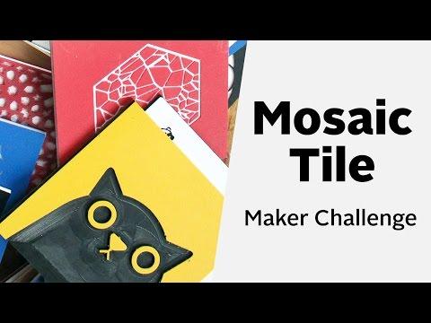Easel Live: Mosaic Tile Maker Challenge