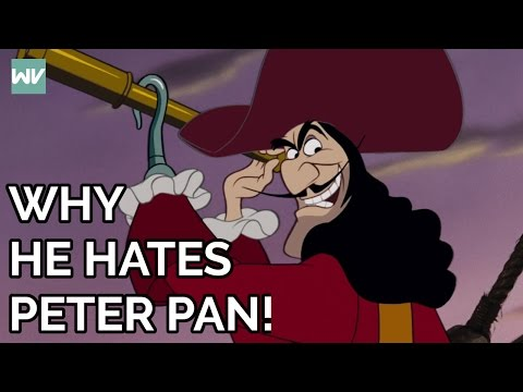 Captain Hook's FULL Story | Why Hook Hates Peter: Discovering Disney's Peter Pan