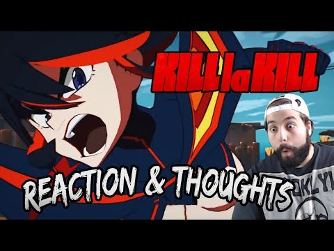Kill La Kill Gameplay Trailer Reaction & Thoughts | Kill La Kill The Game