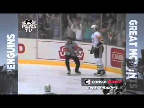 Great Moments in Penguins History (1/3/2012) Mario Lemieux Scores 5 Goals