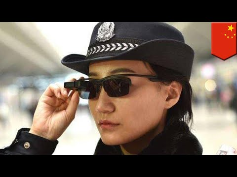 Chinese cops use facial recognition smart glasses to identify suspects in crowds - TomoNews