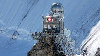 The Train From Wilderswil To Jungfraujoch