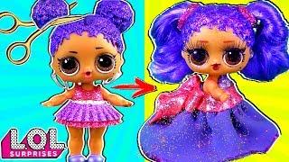 Панки в шоке! Откуда у Марии настоящие волосы?? Трансформация куклы лол сюрприз! Мультик LOL dolls