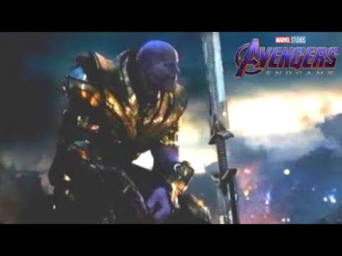What Thanos's SWORD is REALLY Made Out Of - AVENGERS ENDGAME THEORY