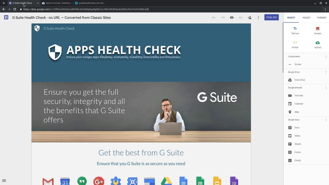 Custom URL - Personal new Google Sites
