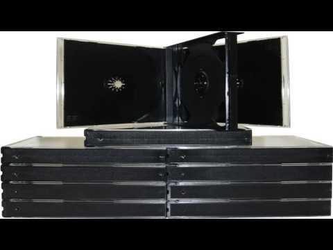 100 Black Quad 4 Disc CD Jewel Case