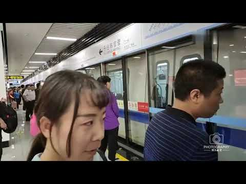 来兰州体验一下兰州地铁,全国首条从地下穿越黄河的地铁