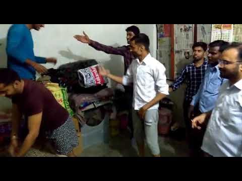 Tikona Allahabad staff holi party 2018 Dance