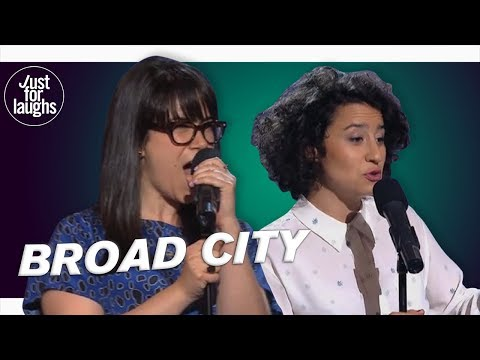 Abbi Jacobson & Ilana Glazer - Being Bad Ass Bitches - YouTube