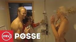 Pirkka-Pekka Petelius ja Maisa Torppa Suihkurallissa   Posse 2. kausi   MTV3