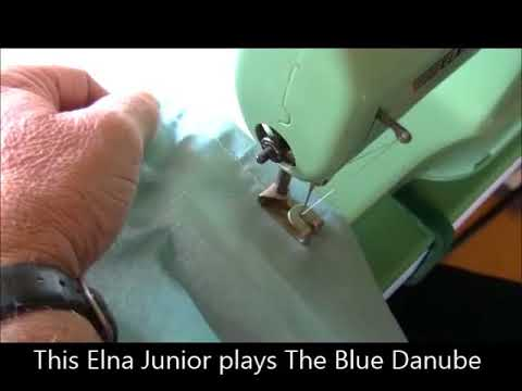 Thread An Elna Junior Sewing Machine YouTube Enchanting Elna Junior Sewing Machine