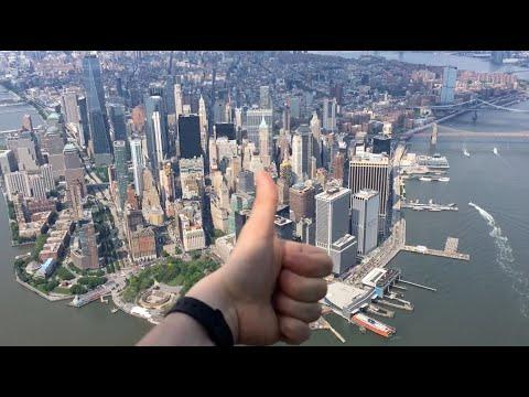 FlyNYON Open Door Helicopter Ride Over Manhattan, New York 2019 (full, Raw, Unedited)