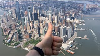 FlyNYON Open Door Helicopter Ride Over Manhattan, New York 2019 (full, raw, unedited)