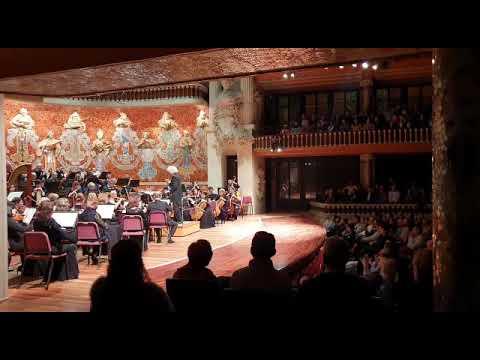 Видео с концерта АСО Самарской филармонии в Палао Барселона