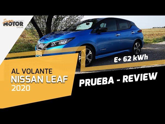 Al volante del Nissan Leaf 2020 / Prueba Leaf 62 kWh / SuperMotor.Online / T5 - E12