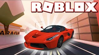 NEW FERRARI CAR + WINTER SEASON UPDATE!! (Roblox Jailbreak)