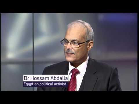 Egypt protest: Hossam Abdalla & his actor son Khalid Abdalla