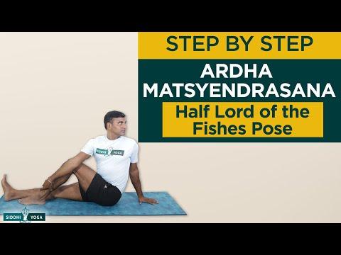 Ardha Matsyendrasana (Half Lord of the Fishes Pose)How to Do by Yogi Ritesh Siddhi Yoga