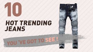 Biker Jeans, Top 10 Collection // New & Popular 2017