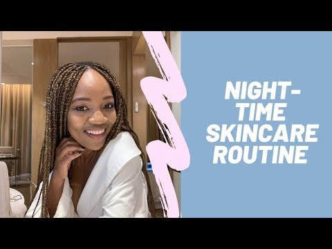 Simple Night-time Skincare Routine for WOC thumbnail