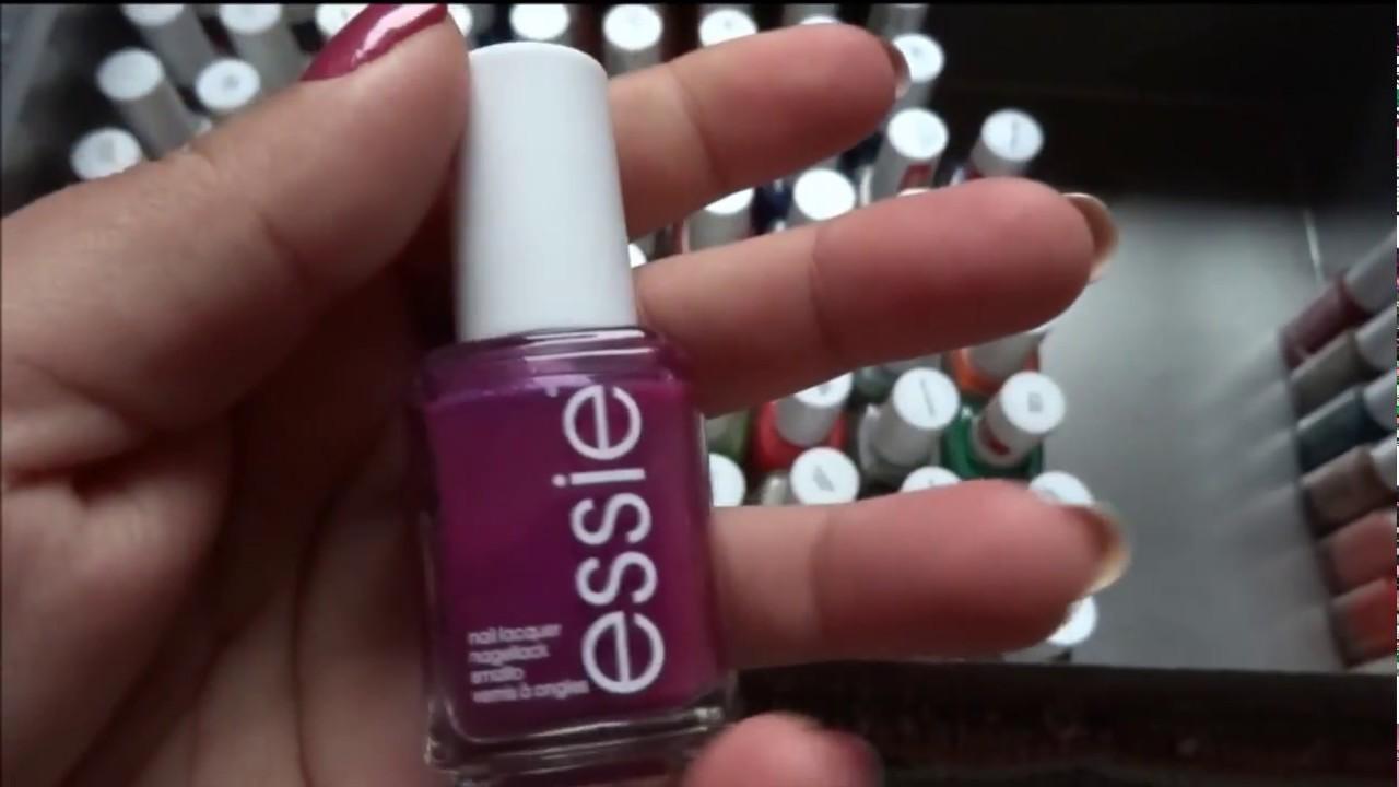 My nailpolish collection - Essie - YouTube