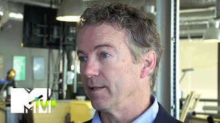 Senator Rand Paul Talks Tech, Social Media And Youth Issues At SXSW | MTV News