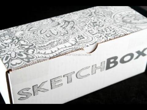 Sketchbox April 2015 Review Coupon Art Subscription