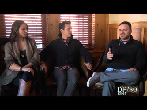 Sundance 2013 - C.O.G. interview Kyle Patrick Avavrez actors Groff, Stoll, O'Hare, Bellisario