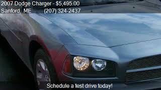 06-07_Dodge_Charger_SXT 2007 Dodge Charger