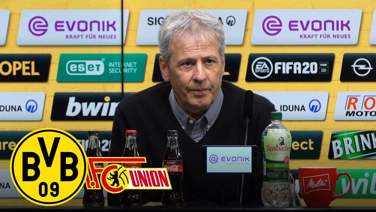 """""""Wir sind sehr sehr zufrieden heute!""""   PK mit Lucien Favre   BVB - 1. FC Union Berlin 5:0"""