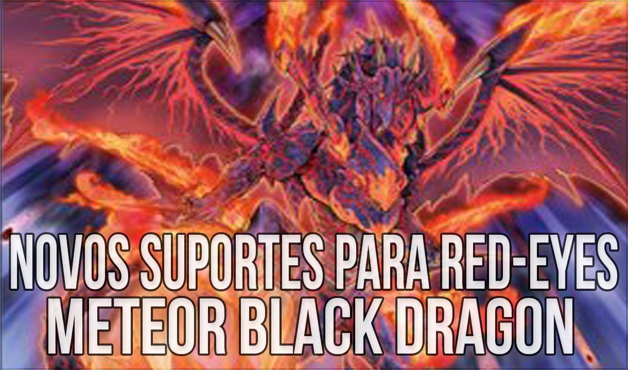 novos suportes para red eyes falling meteor black dragon u0026 red